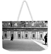 City Square Vintage Black And White  Weekender Tote Bag