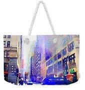 City Street Weekender Tote Bag