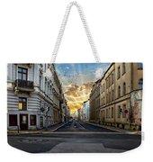 City Street View Weekender Tote Bag