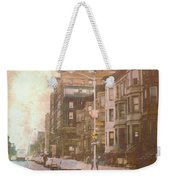 City Streets In Grunge 2 Weekender Tote Bag
