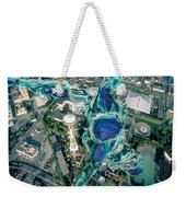 City Strollin Weekender Tote Bag