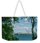 City Through The Trees Weekender Tote Bag