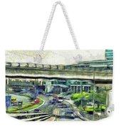 City Traffic Weekender Tote Bag