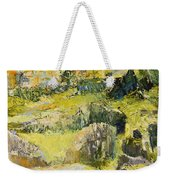 City View From The Sea Weekender Tote Bag