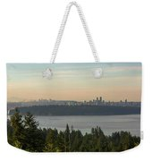 City View Of Vancouver And Burnaby Bc Weekender Tote Bag