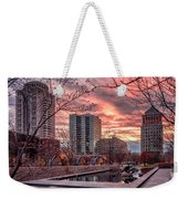 Citygarden Gateway Mall St Louis Mo Dsc01485 Weekender Tote Bag