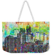 Cityscape Art City Optimist Weekender Tote Bag