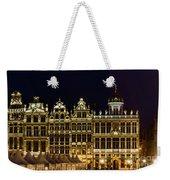 Cityscape In Brussels Europe - Landmark Of Brussels, Belgium Weekender Tote Bag