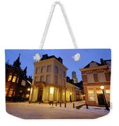 Cityscape Of Utrecht In The Evening At Pausdam 5 Weekender Tote Bag