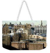 Cityscape Queens Weekender Tote Bag