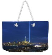 Cityscape Tribute In Lights Nyc Weekender Tote Bag