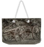 Civil War Cannon And Limber Weekender Tote Bag