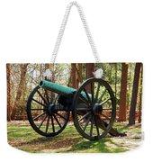 Civil War Cannon Weekender Tote Bag