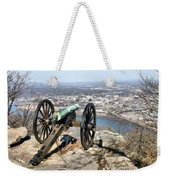 Civil War Cannon Weekender Tote Bag