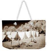 Civil War Encampment - Infrared Weekender Tote Bag