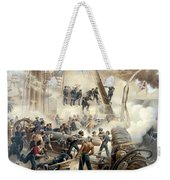 Civil War Naval Battle Weekender Tote Bag