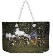 Civil War Re-enactment Weekender Tote Bag