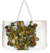 Clams In The Fish Market Weekender Tote Bag