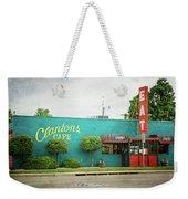 Clanton's Cafe Weekender Tote Bag