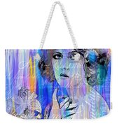 Clara Bow I'll See You In New York Weekender Tote Bag
