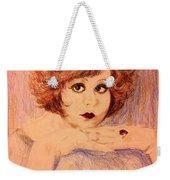 Clara, Redhead Weekender Tote Bag