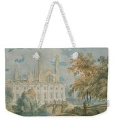 Clare Hall And Kings College Chapel, Cambridge  Weekender Tote Bag