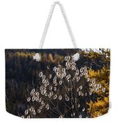 Claree Valley In Autumn - 10 - French Alps Weekender Tote Bag