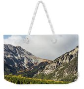 Claree Valley In Autumn - 12 - French Alps Weekender Tote Bag