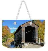 Clark's Trading Post Railroad Covered Bridge Weekender Tote Bag