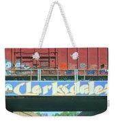 Clarksdale Overpass Weekender Tote Bag