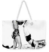 Clash By Night With Marilyn Monroe Weekender Tote Bag
