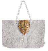 Clash Of Seasons Weekender Tote Bag