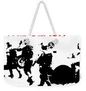 Clash White Riot  Weekender Tote Bag