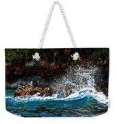 Clashing Nature Weekender Tote Bag