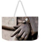 Clasped Hands - Sculpture Garden Nola Weekender Tote Bag