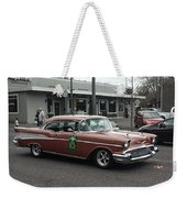 Classic 1950's Chevy Weekender Tote Bag