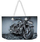 Classic Bike Weekender Tote Bag