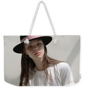 Classic Boater Hat Weekender Tote Bag