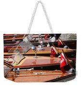 Classic Boats Weekender Tote Bag
