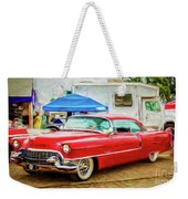 Classic Cadillac Weekender Tote Bag