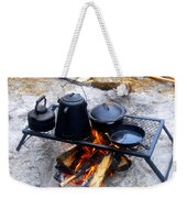 Classic Camp Cooking Weekender Tote Bag