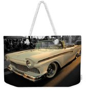 Classic Car Cheve Weekender Tote Bag