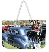 Classic Car Decorations Day Dead  Weekender Tote Bag
