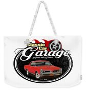 Classic Car Garage With Gto Weekender Tote Bag