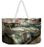 Classic Car Memorabilia Weekender Tote Bag