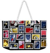 Classic Car Montage Art 1 Weekender Tote Bag