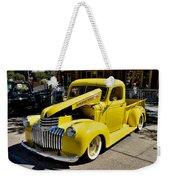 Classic Chevy Pickup Weekender Tote Bag