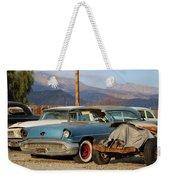Classic Chevy True Blue Weekender Tote Bag