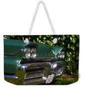 Classic Chrome Weekender Tote Bag