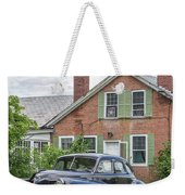 Classic Chrysler 1940s Sedan Weekender Tote Bag